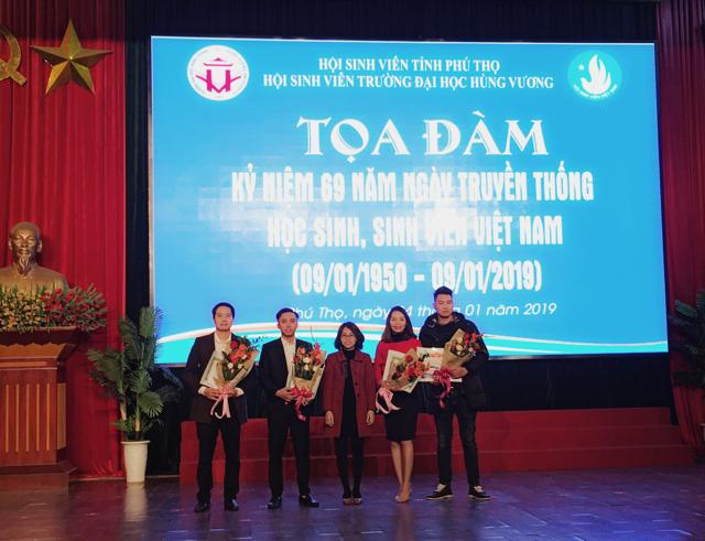 Phú Thọ: Tọa đàm kỷ niệm 69 năm ngày truyền thống học sinh,  sinh viên (09/01/1950 - 09/01/2019)